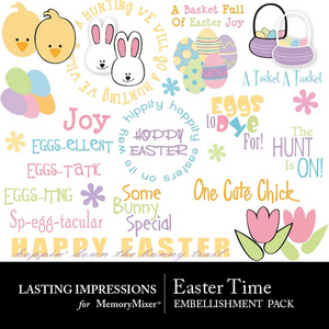 Easter time emb medium