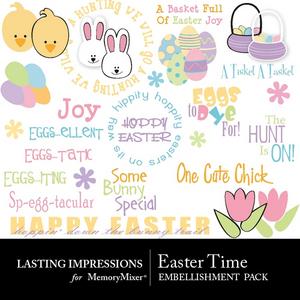 Easter time emb medium