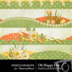Oh Happy Day ID Border Pack-$1.99 (Indigo Designs)