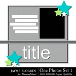 Page Builder Square QuickMix One Photo Set 1-$3.99 (Jayme Elggren)