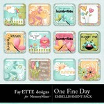 One Fine Day Flair Pack-$1.99 (Fayette Designs)