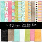 One Fine Day Paper Pack-$2.00 (Fayette Designs)