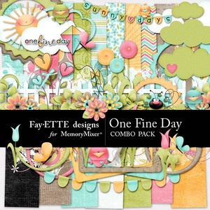 One fine day combo 1 medium