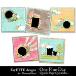 One Fine Day Quick Page QuickMix-$1.75 (Fayette Designs)