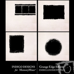 Grunge Edge Effect Embellishment Pack-$2.49 (Indigo Designs)