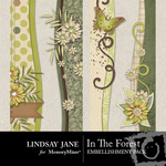 In the Forest Border Pack-$1.99 (Lindsay Jane)