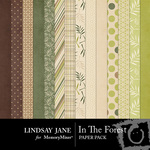 In the Forest Paper Pack-$3.49 (Lindsay Jane)