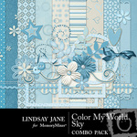 Color My World Sky Combo Pack-$3.49 (Lindsay Jane)