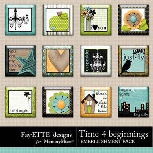 Time 4 beginnings flairs 1 medium