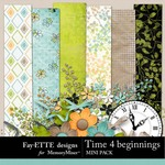 Time 4 Beginnings Mini Pack-$3.49 (Ettes and Company by Fayette)