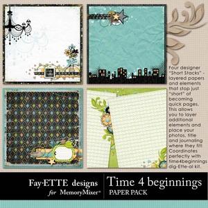 Time 4 beginnings short stack pp 1 medium