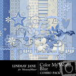 Color My World Blue Combo Pack-$3.49 (Lindsay Jane)