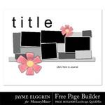 Page Builder Free Landscape QuickMix-$0.00 (Jayme Elggren)