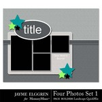 Page Builder Landscape QuickMix 4 Photos Set 1-$2.25 (Jayme Elggren)