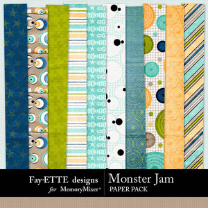 Monster jam pp 1 medium