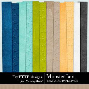 Monster jam textured pp 1 medium