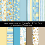Jewels of the Sea Paper Pack-$3.49 (Tara Reed Designs)