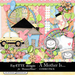 A Mother Is Value Combo Pack-$7.99 (Ettes and Company by Fayette)