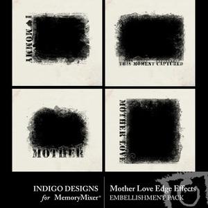 Mother love edge effect emb medium