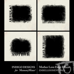 Mother Love Edge Effect Embellishment Pack-$1.99 (Indigo Designs)
