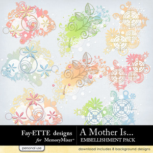 A mother is scatters medium