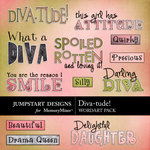 Diva-tude WordArt Pack-$1.79 (Jumpstart Designs)