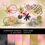 Diva-tude Add On Mini Pack-$2.49 (Jumpstart Designs)