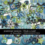 Dude-a-tude Embellishment Pack-$3.49 (Jumpstart Designs)