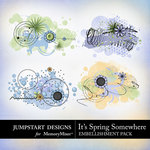 Its Spring Somewhere Scatters Pack-$1.99 (Jumpstart Designs)