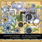 Its Spring Somewhere Embellishment Pack-$3.49 (Jumpstart Designs)