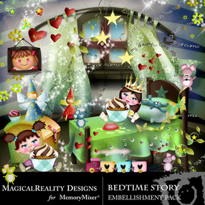 Bed time story emb medium
