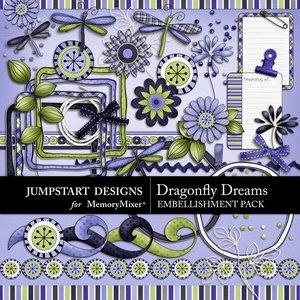Dragonfly dreams emb medium
