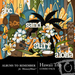 Hawaii Combo Pack-$2.25 (Albums to Remember)