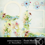 Fresh Morning Cluster Pack-$1.99 (Indigo Designs)