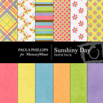 Sunshiny Day PP Paper Pack-$3.99 (Paula Phillips)