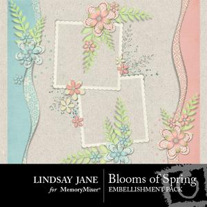 Blooms of spring clusters medium