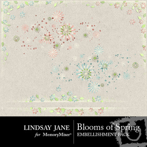 Blooms of spring scatterz medium