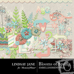 Blooms of Spring Embellishment Pack-$3.99 (Lindsay Jane)