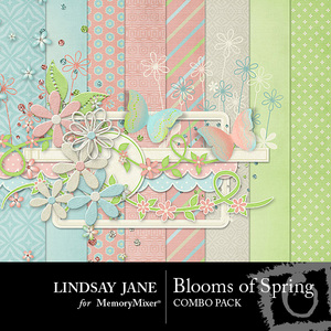 Blooms of spring mini medium