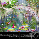 By the Lily Pond Embellishment Pack-$2.99 (MagicalReality Designs)