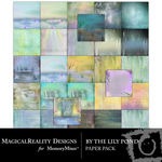 By the Lily Pond Paper Pack-$4.49 (MagicalReality Designs)