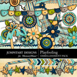 Playfooling Embellishment Pack-$2.99 (Jumpstart Designs)