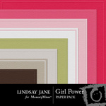 Girl Power Embossed Paper Pack-$2.49 (Lindsay Jane)