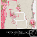 Girl Power Cluster Pack-$1.99 (Lindsay Jane)