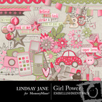 Girl Power Embellishment Pack-$3.49 (Lindsay Jane)