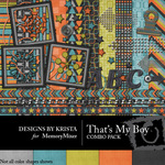 Thats My Boy Combo Pack-$4.49 (Designs by Krista)