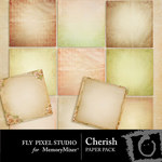 Cherish Paper Pack-$3.99 (Fly Pixel Studio)