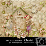 Cherish Embellishment Pack-$2.99 (Fly Pixel Studio)