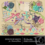 Eclectic Embellishment Pack-$2.99 (Designs by Krista)
