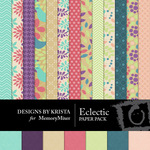 Eclectic Paper Pack-$3.99 (Designs by Krista)